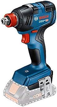 """Chave de Impacto a Bateria de ¼ e ½"""" Bosch GDX 18V-200, 200Nm, 18V, sem Bateria e sem Carregador em M"""