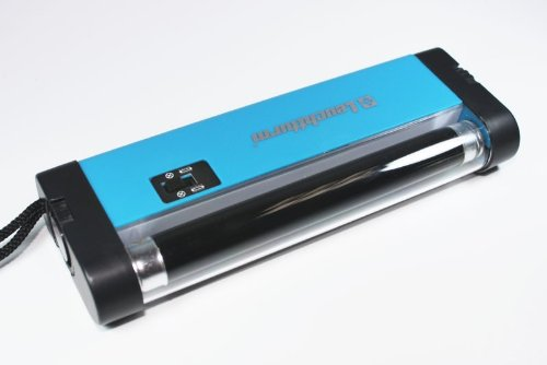 Portable ultraviolet UV lamp to determine fluorescence
