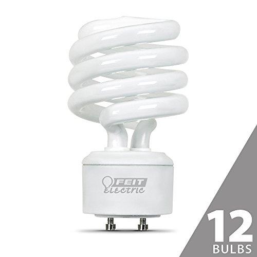 FEIT BPESL18TM/GU24 75W Equivalent CFL Twist GU24 Base Bu...