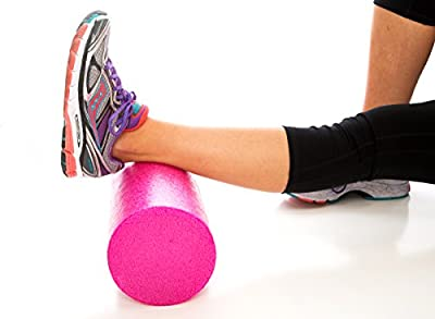 Maintains Shape After Moderate to Heavy Use and Is Perfect for All Body Types. Pink Exercise Foam Roller with Trigger-Point Design - Massages, Soothes, Refreshes And Invigorates