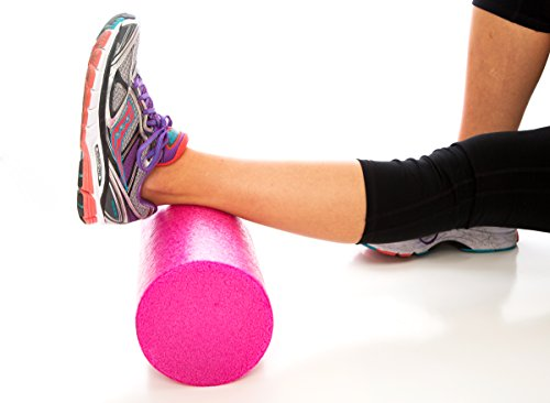 Product Stop, Inc Maintains Shape After Moderate to Heavy Use and Is Perfect for All Body Types. Pink Exercise Foam Roller with Trigger-Point Design - Massages, Soothes, Refreshes And Invigorates by Product Stop, Inc (Image #1)