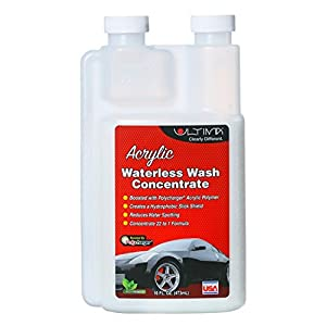 Ultima Acrylic Waterless Wash 21:1 Concentrate 16.9 oz. Mixing Bottle