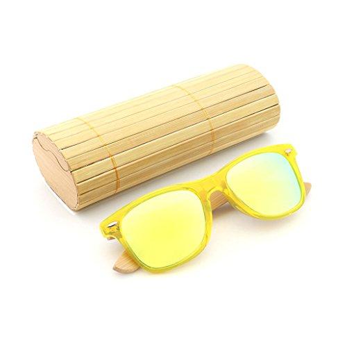 de Sol polarizadasDos 4 de de Madera Marco Color Dos Brillo Efecto TP 2 de Tonos Gafas duplicado Madera de qxTwE50t