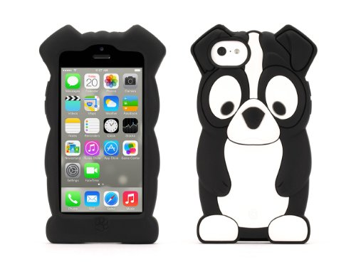 Griffin Boston Terrier KaZoo Protective Animal Case for iPhone 5c - Fun animal friends for iPhone - Boston Stores Kids In