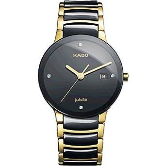 66cdaf8f7 Buy Rado Jublie Men s watch (Gold Black) Online at Low Prices in ...