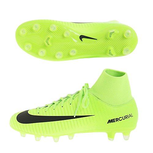 Botas Nike Mercurial Victory VI Df Ag Pro Verde Con Calcetín ELECTRIC GREEN /BLACK