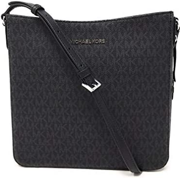 Michael Kors Jet Set NS Travel Messenger Bag Black Black