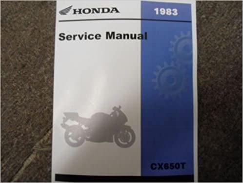 1983 83 HONDA CX650 TURBO CX 650 Service Shop Repair Manual Brand New 1983: Honda, Honda Inc.: Amazon.com: Books