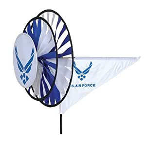 Triple Wind Spinner Armed Forces Air Force