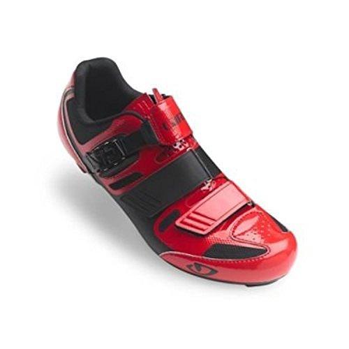 Giro Apeckx II Cycling Shoes Bright Red/Black 41.5 - 275 Profile Wheel