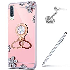 Description: Compatible Model: Samsung Galaxy A50 Made of high quality soft TPU which is safe and protective,light weight which fits your phone perfectly Humanized design makes our case more useful,you can access all buttons with the case,and...