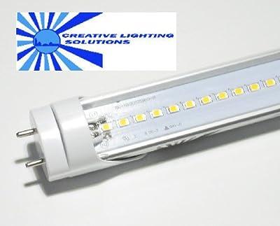 SMD LED T8 Tube Light, 18 in, Natural White, 7W, 120LED, 85-265VAC
