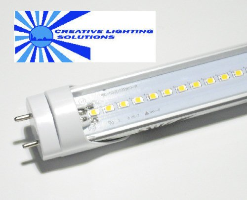 SMD LED T8 Tube Light, 18 in, Natural White, 7W, 120LED, 85-265VAC