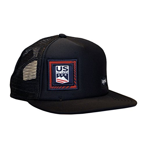 bigtruck U.S. Ski Team Original Trucker Hat, Black, Adult
