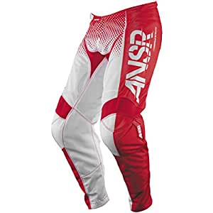 Answer Racing A17.5 Syncron Air Men's Off-Road Motorcycle Pants - Red/White / Size 42