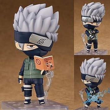 Yvonnezhang Anime Naruto Nendoroid 724 Kakashi Hatake 10cm ...