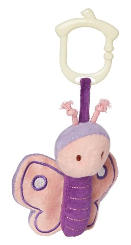 My Natural Clip n Go Stroller Toy, Butterfly