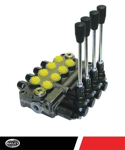 (Prince Hydraulic Control Valve - 8 GPM, 4-Spool, Model# MB41BBBB5C1)