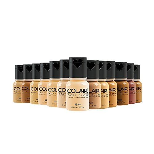 Dinair Airbrush Makeup Foundation 13pc Master Collection | Soft Glow: Matte Finish by Dinair Airbrush Makeup