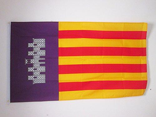Flaggenking King Mallorca Bandera Banderas, multicolor/150 x 90 cm: Amazon.es: Jardín