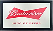 Trademark Gameroom Budweiser Framed Logo Mirror - Bow Tie