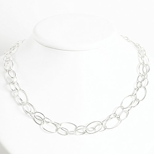 ICE CARATS 925 Sterling Silver Oval Cuban Link Chain Necklace Pendant Charm Fancy Fine Jewelry Ideal Gifts For Women Gift Set From - Heart Link Oval