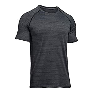 Men's Under Armour Tech Short Sleeve, Black/Graphite, Large