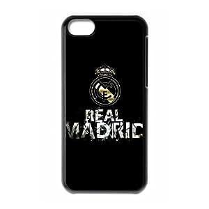 iPhone 5C Phone Case Black Real Madrid HUX316884