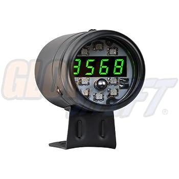413riimKDUL._SL500_AC_SS350_ amazon com auto meter 5343 digital black pro shift tube system proform shift light wiring diagram at soozxer.org