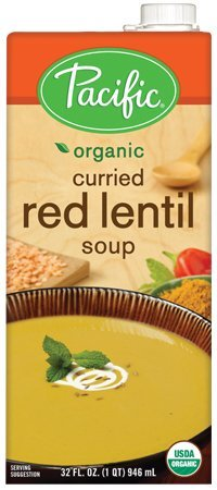 (Pacific Foods, Organic Curried Red Lentil Soup (Pack of 2))