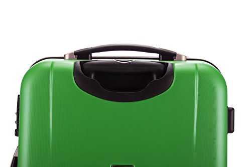 HAUPTSTADTKOFFER® 103 Liter (ca. 75 x 49 x 30 cm) · Hartschalenkoffer · Modell: WEDDING 1209 · TSA Schloss · Farbe: APFELGRÜN MATT