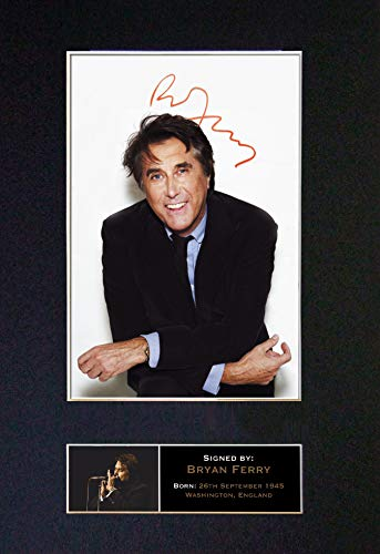 #153 Bryan Ferry Signed Autograph Photo Reproduction Print A4 Rare Perfect Birthday (297 x 210mm) (Not Framed)