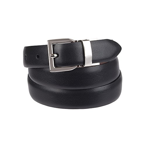 Chaps Women's Plus Size Reversible Belt with Stretch