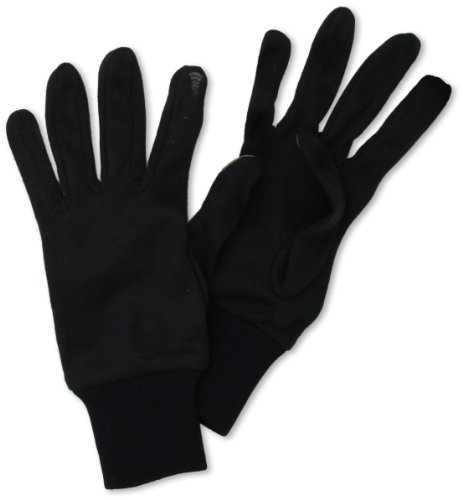 Seirus Thermax Liner Gloves - Seirus Innovation Soundtouch Deluxe Thermax Glove,Black,Large/X-Large