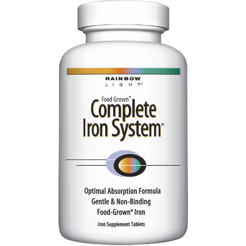 Rainbow Light Nutritional Systems - Complete Iron, 18 mg, 60