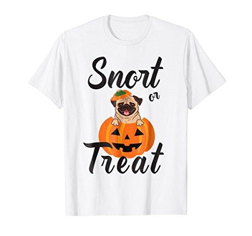 - Halloween Pug Tshirt - Funny Halloween Shirt