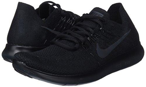 013 Nero Donna Free Running Flyknit black Anthracite Rn Nike 2017 Scarpe vUPxx