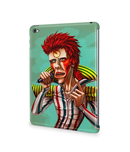[Ziggy Stardust Costume David Bowie Plastic Snap-On Case Cover Shell For Apple iPad Mini 4] (Kevin Mccallister Costume)