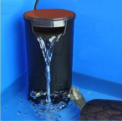 Aquarium Built-in Low Water Level Filter (130 GPH) Fish tank turtle tank internal hang on filter quiet silence