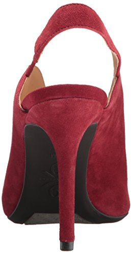 Nine Heeled Sandal Women's Suede West Red Moore9x9 Red 66qrw