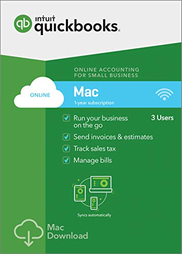 QuickBooks Online 2019 Subscription Download product image