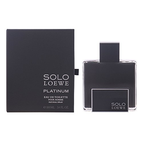 Solo Loewe - Loewe Solo Platinum Men's 3.4-ounce Eau de Toilette Spray