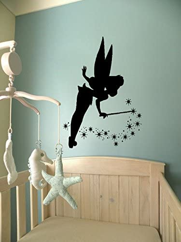 Amazon Com Magic Fairy Wall Decals Tinker Bell Sprinkle Pixie