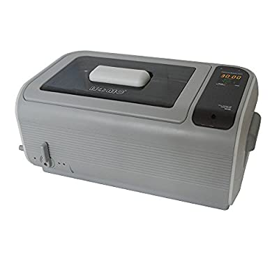 iSonic P4862-IT Commercial Ultrasonic Cleaner, Plastic Basket, Stainless Steel Bucket, 1.6 gal/6 L, Beige Color, Variations