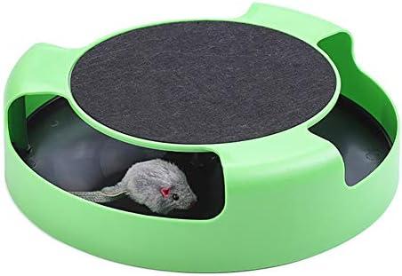Einsgut - Juguete electrónico para gatos, de plástico, interactivo ...