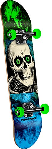 Powell-Peralta Ripper Storm Complete Skateboard, Green