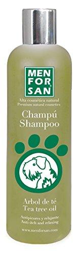 MENFORSAN champu arbol de te para perros antipicores bote 300 ml