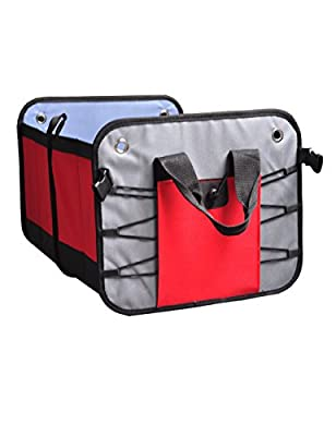 Collapsible bag Portable storage Multi Compartments Trunk Organizer