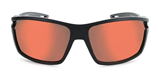 65fb89d97382e Amazon.com  Optic Nerve Primer Deuce Interchangeable Sunglasses - Matte  Black with Grey and 2 Sets  Grey with Red Mirror