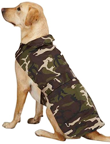 Casual Canine Camo Barn Pet Coat, X-Small, (Casual Canine Pink Camo)